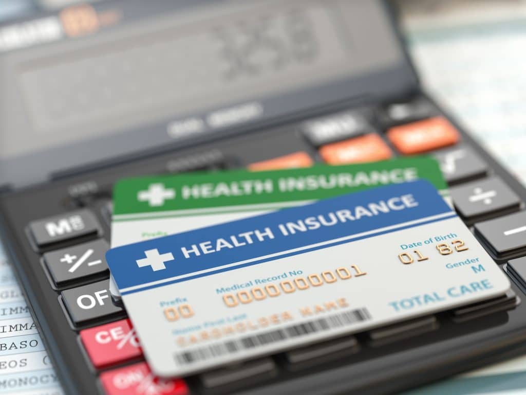 photo of insurance cards
